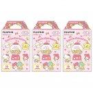 3 Packs Sanrio Characters FujiFilm Fuji Instax Mini Film, 30 Instant Photos Polaroid 50S SP-2 X520