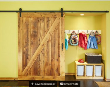 8ft sliding barn wood door interior wooden door sliding track kit