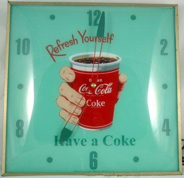 Vintage RARE Coca Cola PAM Clock