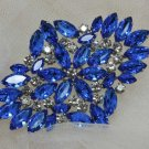 Vintage Style Glass Crystal Rhinestone Wedding Bridal Bride rhombus Brooch Pin