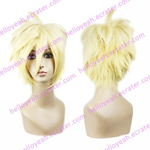 Cosplay Wig Inspired by Arcana Famiglia Liberta Light Golden