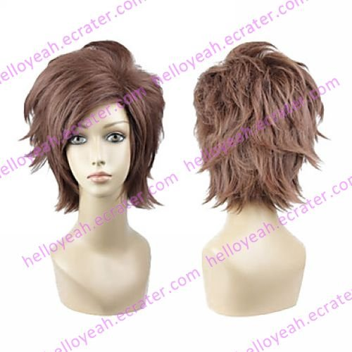 Cosplay Wig Inspired by Arcana Famiglia Pace Brown VER.