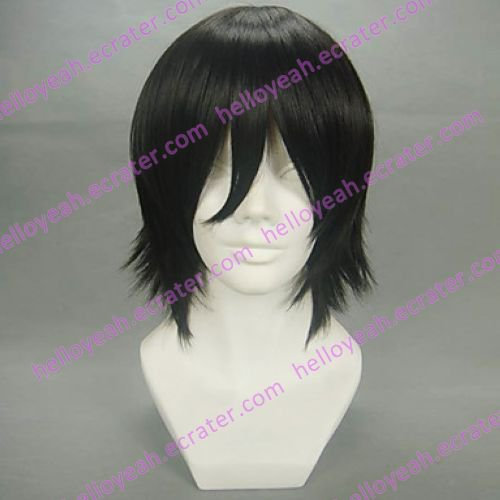 Cosplay Wig Inspired by Code Geass Zero Lelouch Lamperouge