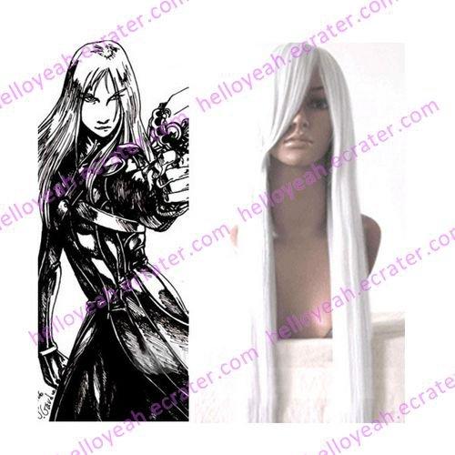 Final Fantasy Yazoo Cosplay wig