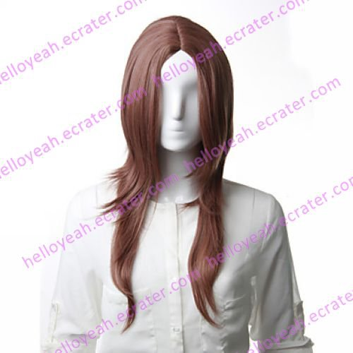 Cosplay Wig Inspired by Final Fantasy-0-Style-Rem Brown