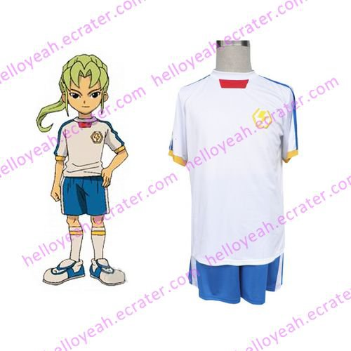 Inazuma Eleven Inazuma Japan Summer Soccer Uniform Cosplay wig