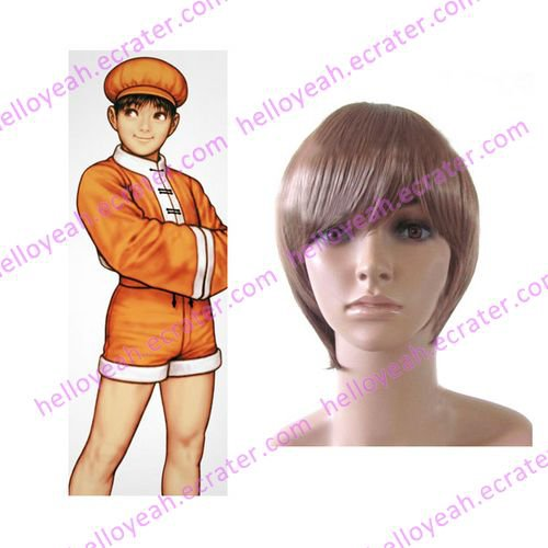 King of Fighter 99 Bao Halloween Cosplay wig
