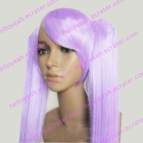 Cosplay Wig -  Hiiragi Kagami wigs model 2 from Lucky star