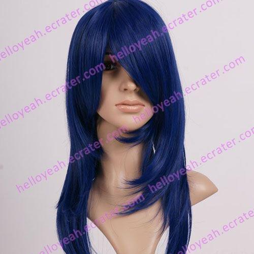 Neon Genesis Evangelion Misato Katsuragi Halloween Cosplay wig