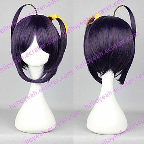 Cosplay Wig Inspired by Chunibyo Demo Koi ga Shitai! Rikka Takanashi Purple 35cm Cute