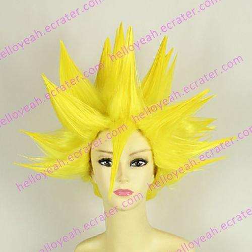 Cosplay Wig Inspired by Dragon Ball Vegeta