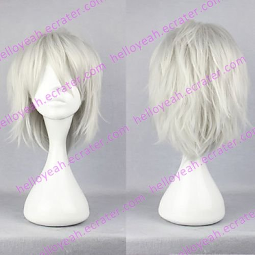 Cosplay Wig Inspired by Dramatical Murder Clear Silver