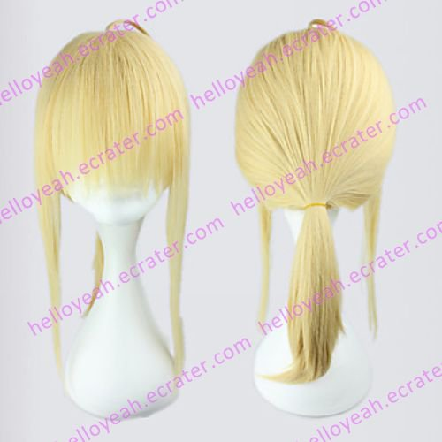 Cosplay Wig Inspired by Fatezero Saber