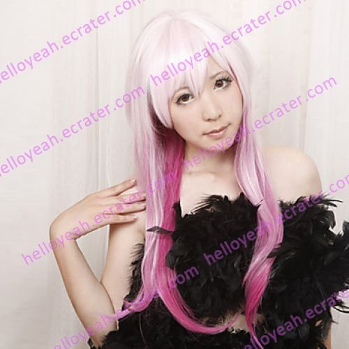 Cosplay Wig Inspired by Guilty Crown Inori Yuzuriha Lolita