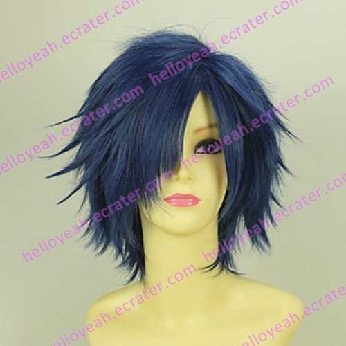 Cosplay Wig Inspired by Harukanaru Toki No Naka De Alikawa Masahomi Blue