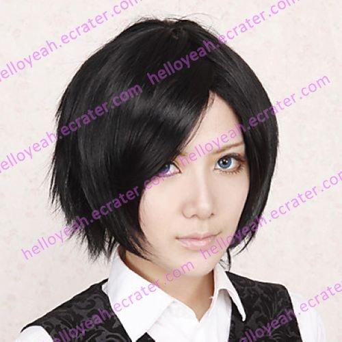 Cosplay Wig Inspired by Hetalia Axis Powers Japan Honda Kiku