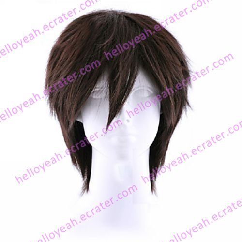 Cosplay Wig Inspired by Higurashi When They Cry Keiichi Maebara