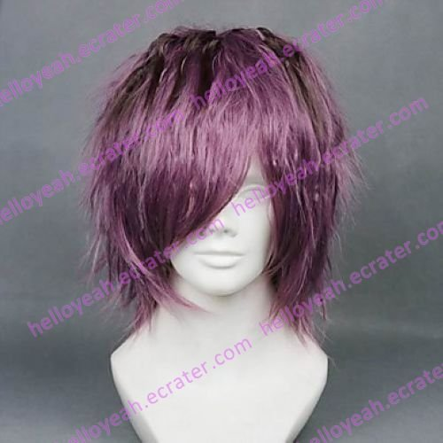 Cosplay Wig Inspired by IB Garry Purple Piece Dyeing