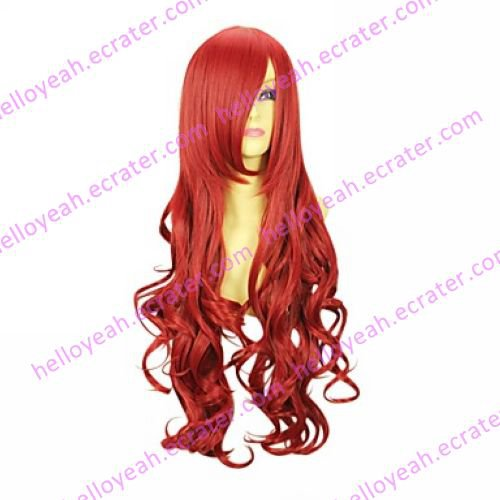 Cosplay Wig Inspired by Naruto Karui Red VER.