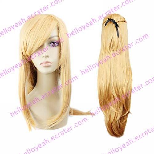 Cosplay Wig Inspired by Sword Art Online Asuna Yuuki Blond