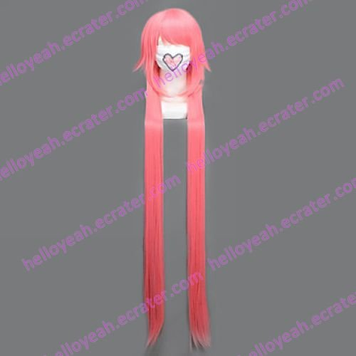 Cosplay Wig Inspired by The Future Diary-Gasai Yuno