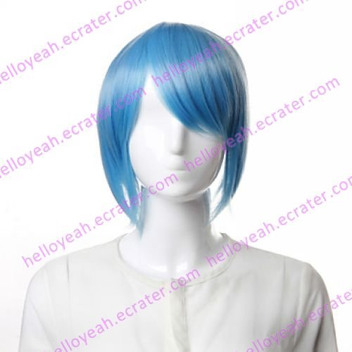 Cosplay Wig Inspired by Tiger & Bunny-Blue Rose
