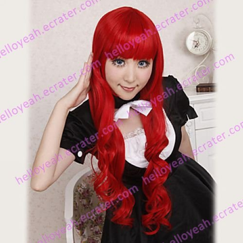 Cosplay Wig Inspired by Uta no Prince Tomochika Shibuya Red