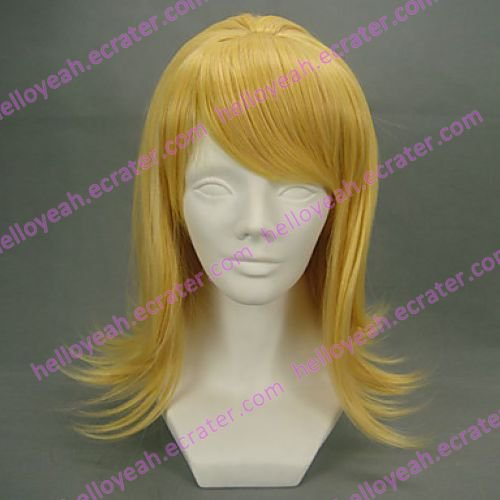 Cosplay Wig Inspired by Vocaloid Kagamine Rin