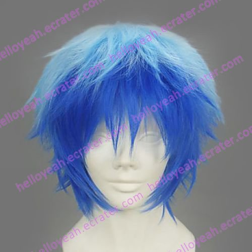 Cosplay Wig Inspired by Vocaloid Kaito