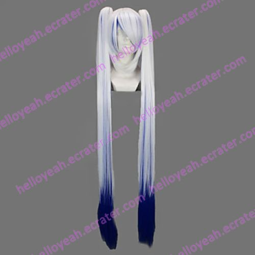 Cosplay Wig Inspired by Vocaloid Snow Miku