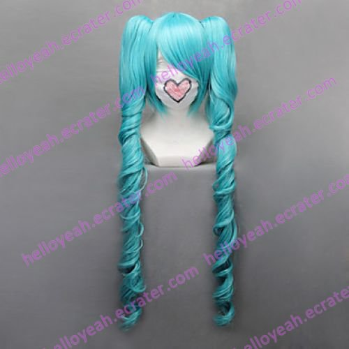 Cosplay Wig Inspired by Vocaloid-Magnet Miku