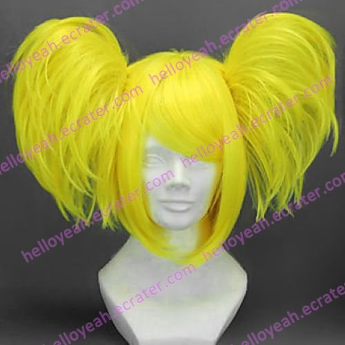 Cosplay Wig Inspired by Vocaloid-Meltdown Kagamine Rin