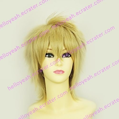 Tales of the Abyss Guy Cecil Blond Cosplay Wig