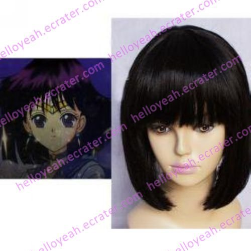 Sailor Moon Sailor Saturn Hotaru Tomoe Cosplay wig