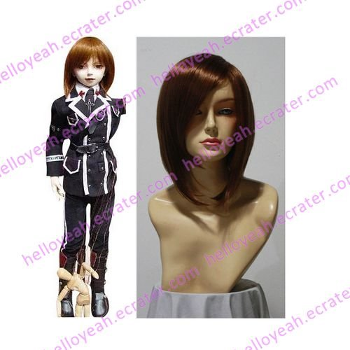 Trinity Blood Rosen Kreuz Orden Cosplay Uniform wig
