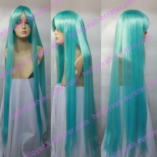 Cosplay wigs - hatsune miku 100cm  straight wigs from VOCALOID