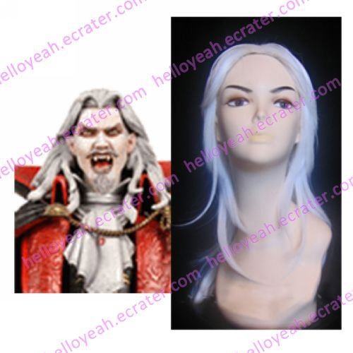 Castlevania Vampire Dracula White Cosplay Wig
