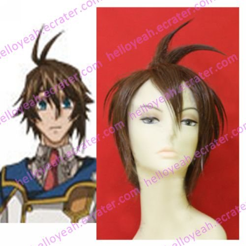 Chrome Shelled Regios Layfon Cosplay Wig