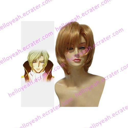 Code Geass Schneizel El Britannia Cosplay Wig(cg45)