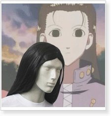 Hunter X Hunter Yellmi Zaoldyeck Cosplay Wig