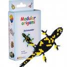Amazing kit for assembling a modular origami salamander