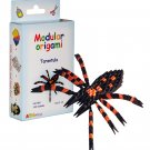 Amazing kit for assembling a modular origami tarantula