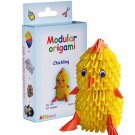 Amazing kit for assembling a modular origami chickling