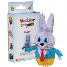 Amazing kit for assembling a modular origami rabbit