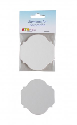 Ready-made elements for cards - Tags - 3 pcs./pack