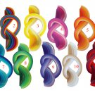 500 Quilling strips, different colours, 2 mm/35 cm