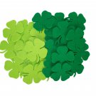 24 pcs Felt  2 mm  65/65mm Shapes Die Cut Clovers / Shamrock for your creative projects