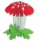 Amazing  gift - Mushroom 3D modular origami
