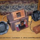 iCog Victorian Boombox  Steampunk Subwoofer Dock for iPhone 4/4s & iPod 2/3/4 (Made to Order: 4Wks)