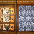 "iCog Dionaea for Apple iPad Air/5 Wooden Steampunk Case ""Boilerplate"" (Made to Order: 4 wks)"